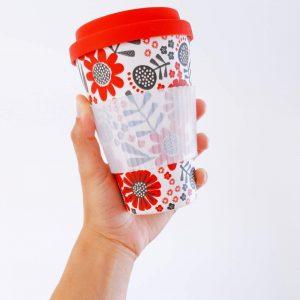 Mug en fibres de bambou